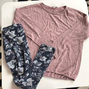 Zara Leggings and Shirt
